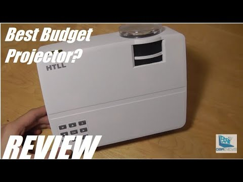 REVIEW: HTLL E08 - Budget LED HD Mini Projector (720P)