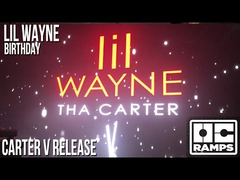 Lil Wayne's 36th Birthday party and Carter V release!