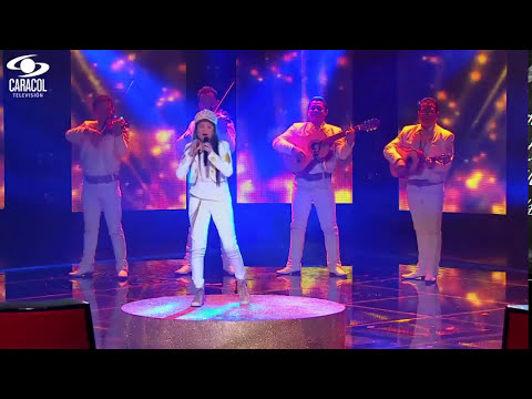 Tatiana canto 'Tu lo decidiste' – LVK Colombia – Final – T1