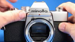 Minolta SRT 200 35mm film camera body