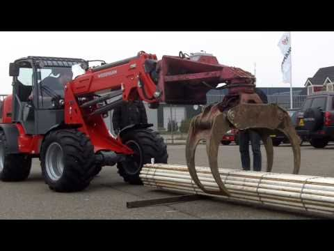 Weidemann 3070CX80 LP kniklader Telescoop