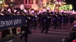 TOHO WIND ENSEMBLE・ディズニーパレード1(127TH ROSE PARADE 2016)
