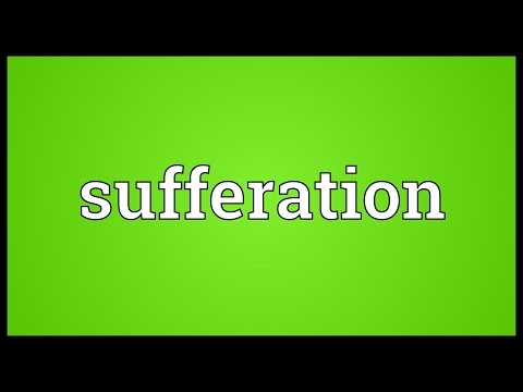 Header of Sufferation