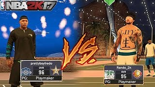 MYPARK SUPERSTAR GETS EXPOSED!!! 20 POINTS ON HIS HEAD!!! NBA 2K17 -