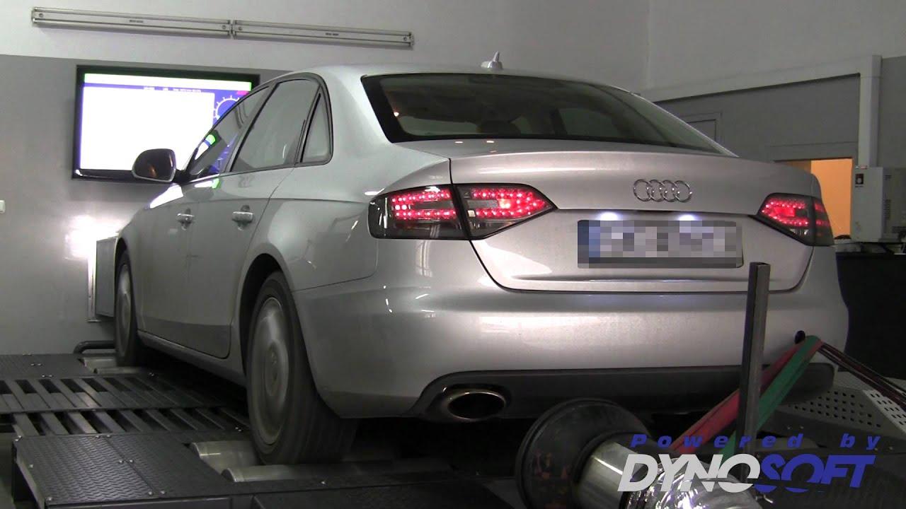 Audi a4 b8 2 0tsi 211km caeb tuning i hamownia dyno run for Audi a4 interieur tuning