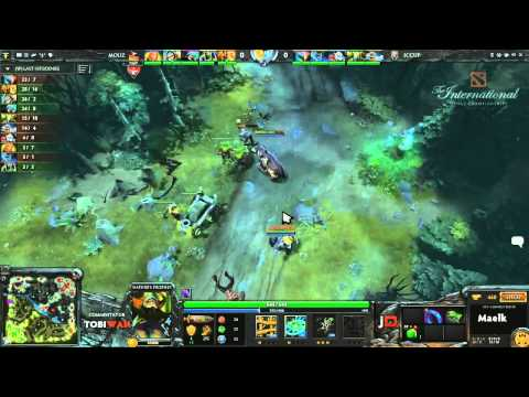 Mousesports vs iCCup Game 1  DOTA 2 International Western Qualifiers - TobiWan & Soe