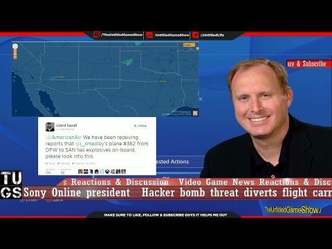Flight Threat Sony Online president - Update PSN Down on PS3, PS4, PSV LizardSquad