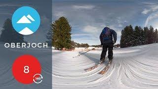 Red 8 Oberjoch in 360 VR | Piste View