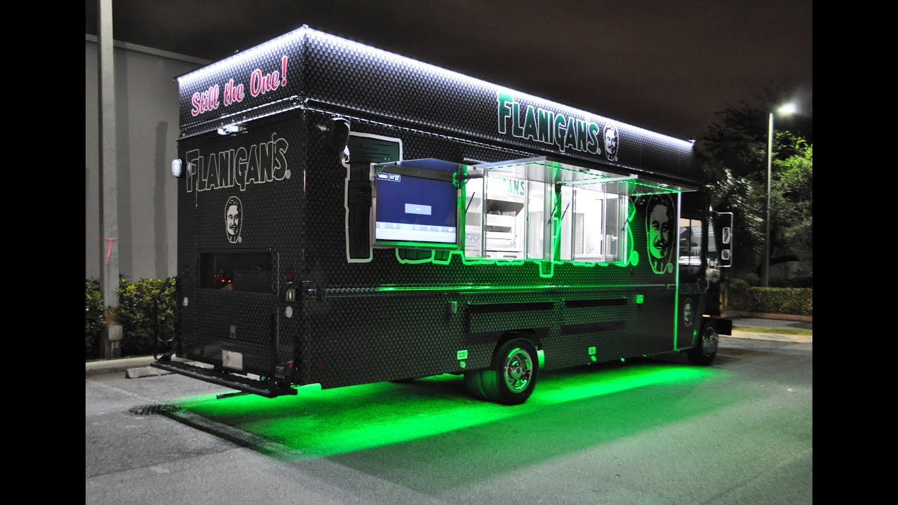 Flanigan S Food Truck Youtube