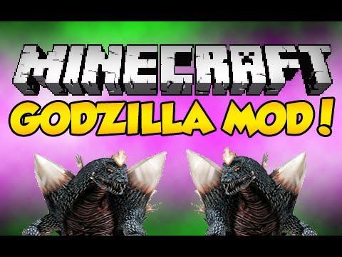 Minecraft: Godzilla Mod! (Monday's Mod Review)