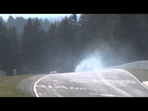 Highlights VLN 1.Lauf 29.03.14 Nordschleife - Almost Crash/ Spin/ Auffahrunfall, Action- HD