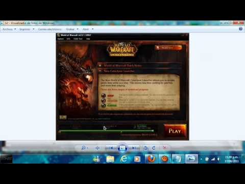 Descarga gratis de World Of Warcrafth Cataclysm Con Servidor Gratuito