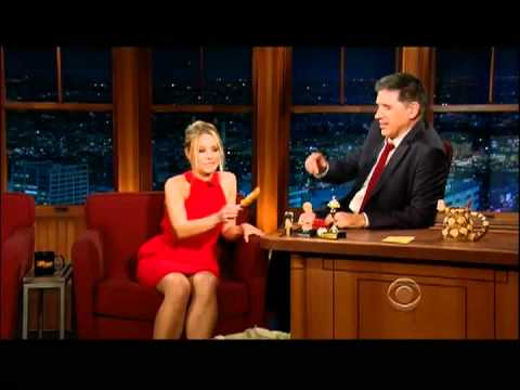 Craig Ferguson 1/13/12D Late Late Show Kristen Bell XD