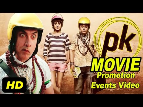 PK 2014 Promotion Events Full Video | Aamir Khan, Anushka Sharma, Sushant Singh Rajput