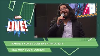 Miles Morales: Spider-Man writer Saladin Ahmed joins Marvel Voices live at NYCC 2018!