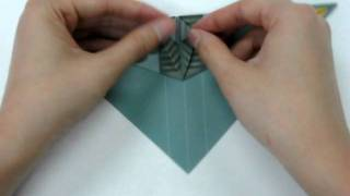 How To Make - Origami Plane F35c.avi