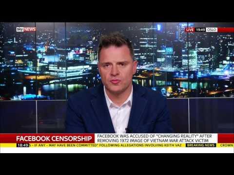 Facebook Vietnam War Photo Censorship