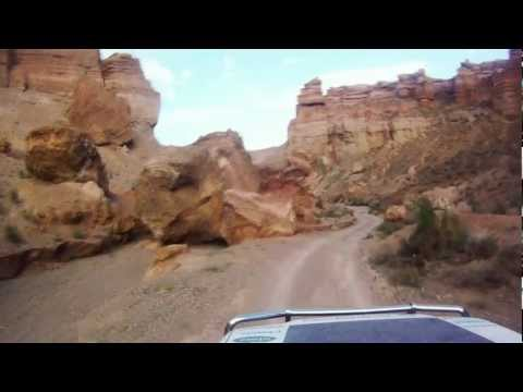 Inside amazing Canyon Charyn- extreme adventure travel
