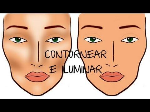 C mo contornear e iluminar el rostro seg n su forma youtube for Como se forma el marmol