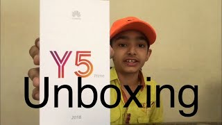 Unboxing+review of HUAWEI Y5 PRIME of 2018 [AHMED TUBE]