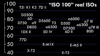 ISO is totally FAKE. Seriously.