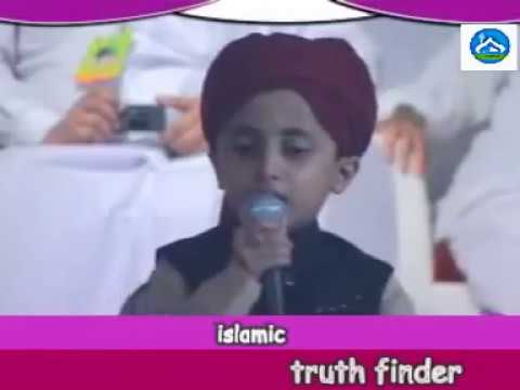 mueenudheen when 5 years oldsinging naat and english islamic...