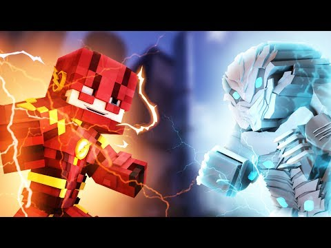 Minecraft THE FLASH/SPEEDSTER MOD REVIEW - The Flash. Savitar. Black Flash. Godspeed & More!