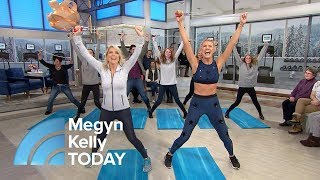 Exercise Moves You Can Do At Home With Just A Jump Rope   Megyn Kelly TODAY