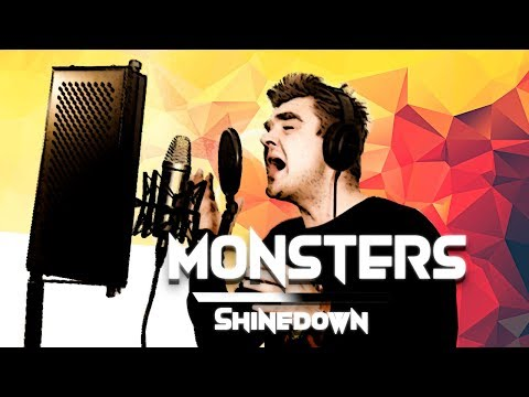 Monsters - Shinedown Cover