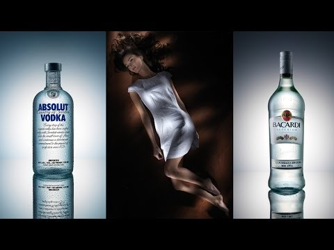Broncolor Lighting (How To Part 2) Flash Painting & Bottle Photography by Karl Taylor.
