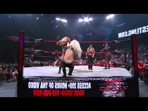 TNA iMPACT   7 23 09   Knockouts Battle Royal
