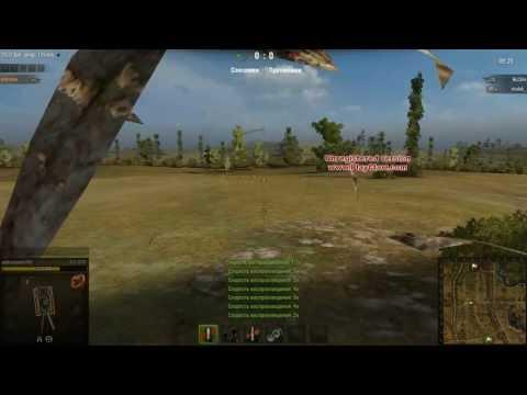 World of Tanks баг на прохоровке и снова ёлка удевляет (в камень )
