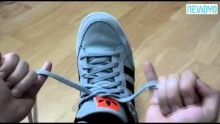 Ayakkabı Bağcığı 2 Saniyede Nasıl Bağlanır
