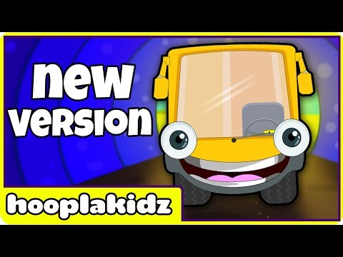 Wheels On The Bus | Nursery Rhymes For Toddlers And Babies | New Hd Version From Hooplakidz video