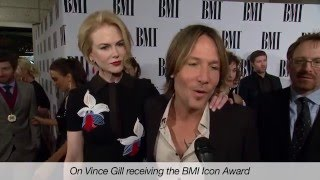 Keith Urban Video - Nicole Kidman & Keith Urban Interviewed at the 2014 BMI Country Awards
