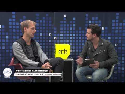 Armin Van Buuren vs Levi van Kempen - Q&A at Amsterdam Dance Event 2014