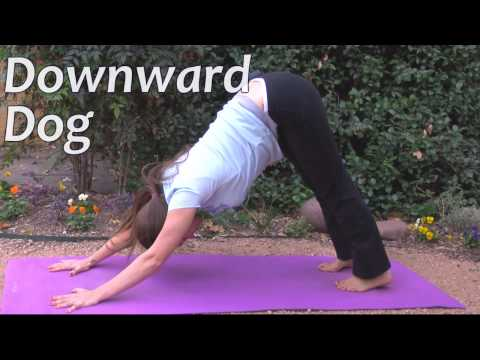 Yoga Poses For Beginners Sun Salutation Part 3, Jen Hilman Austin Yoga & Massage