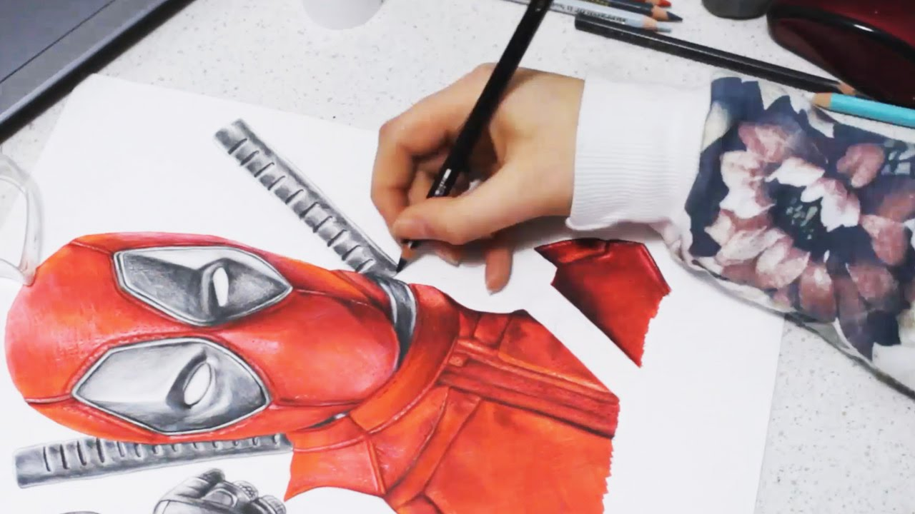 DEADPOOL - Speed Drawing [HD]