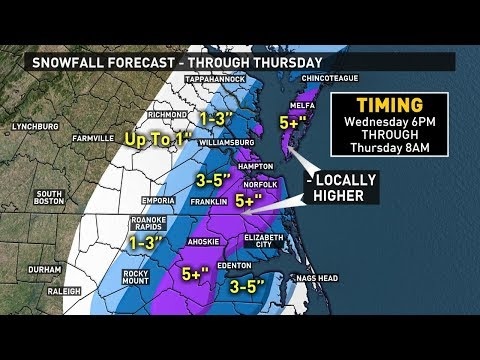 Winter Weather Forecast 1218 Snow on the way for Wednesday and Thursday