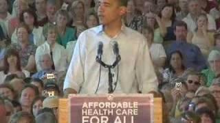 Barack Obama in Roseburg, OR
