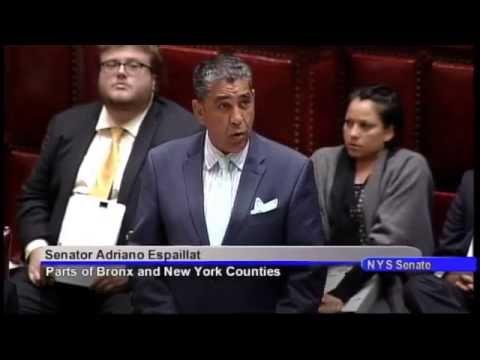 Senator Espaillat's session remarks on the farm workers bill - 06/16/16