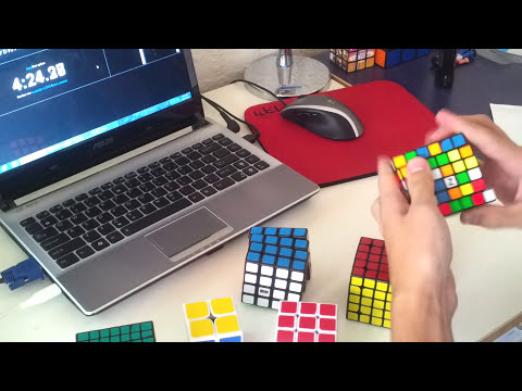 2x2 - 7x7 Rubik's Cube World Record: 6:18.09