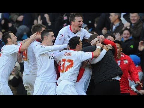 Milton Keynes Dons 2-1 AFC Wimbledon | The FA Cup 2nd Round 2012/13