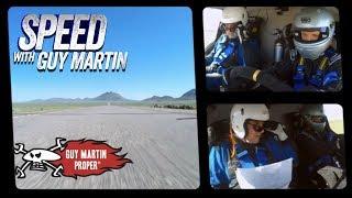 Guy's FULL 90mile 150mph Nevada Open Road Challenge in a TRANSIT VAN | Guy Martin Proper