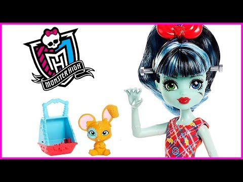 Monster High Family Alivia Stein Frankie Stein's Little Sister Doll Review