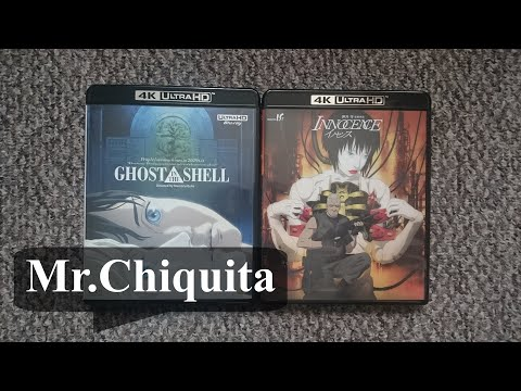 Ghost In The Shell (1995) I Innocence 4K Ultra HD [JP] - Unboxing