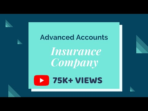 Advanced Accounts for CA- IPCC (Insurance Company)