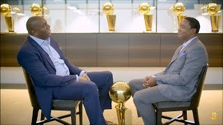 Magic Johnson & Isiah Thomas | 1-on-1 Interview (Players Only)[FULL]