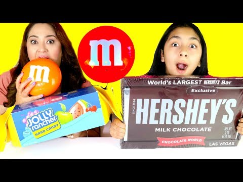 Giant Chocolate Candy Bars Hershey's M&Ms Jolly Ranchers| B2cutecupcakes