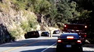 Rollover accident on the 299 E near Ingot 20170721 080024